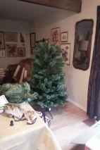 yes the Christmas tree is up