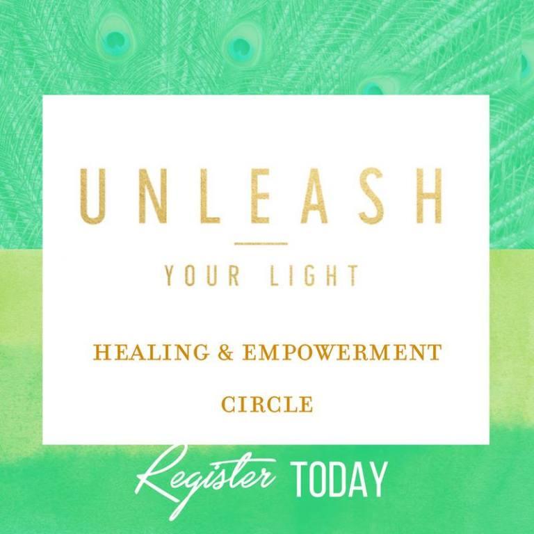 unleash your light green