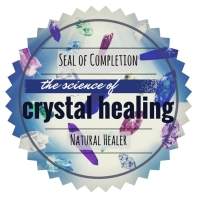 The Science of Crystal Healing Seal